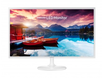 Monitor LED Samsung LS32F351FUUXEN, Full HD, HDMI, Alb, 32""