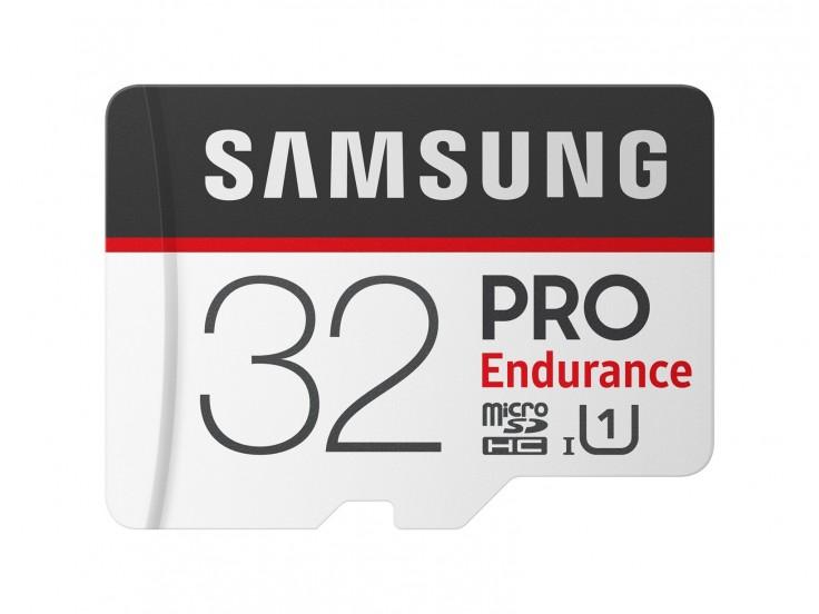 Card memorie Samsung microSDXC, PRO Endurance, 32GB, Class 10, UHS-I, Adaptor inclus, MB-MJ32GA/EU