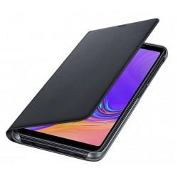 Husa Flip Wallet Samsung Galaxy A7 (2018), Black, EF-WA750PBEGWW
