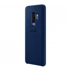 Husa Alcantara Cover pentru Samsung Galaxy S9 Plus, Blue