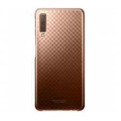 Husa Gradation Cover Samsung Galaxy A7 (2018), Gold