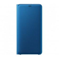 Husa Flip Wallet Samsung Galaxy A7 (2018), Blue