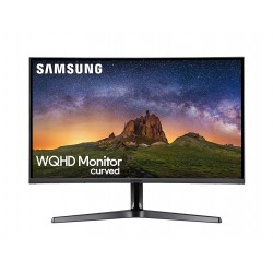 Monitor Gaming Curbat QLED Samsung LC27HG70QQUXEN, WQHD, 27 inch, 144Hz, 1ms, HDR, FreeSync, Negru