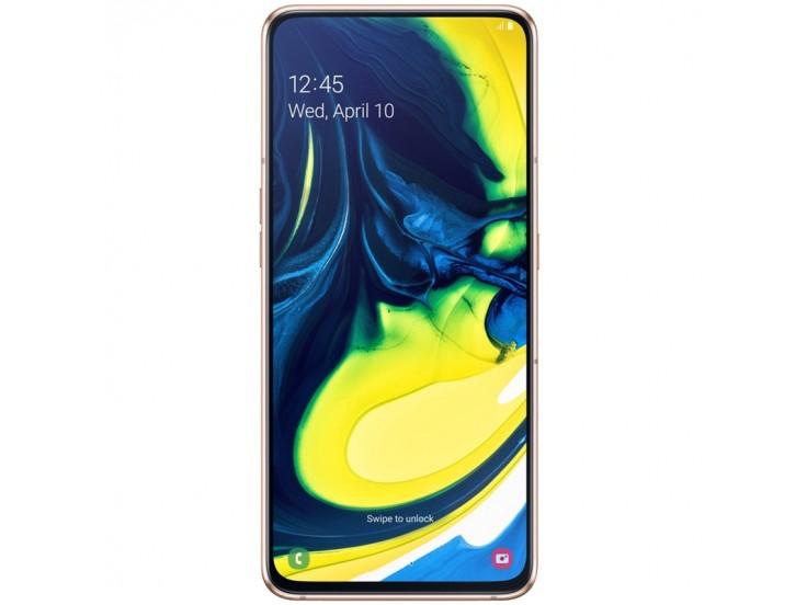 Telefon mobil Samsung Galaxy A80, Dual SIM, 128GB, LTE, Gold