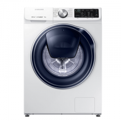 Masina de spalat rufe Samsung WW70M644OPW, Quick Drive, AddWash, Eco Bubble, Digital Inverter, Smart Control, Clasa A+++