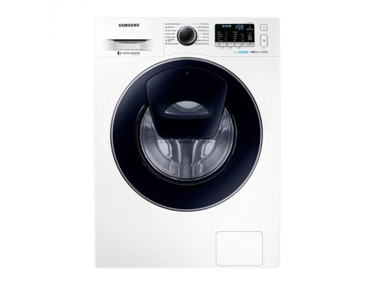 Masina de spalat rufe Samsung Add-Wash WW80K5210VW/LE, Eco Bubble, 8 kg, 1200 RPM, A+++, Alb