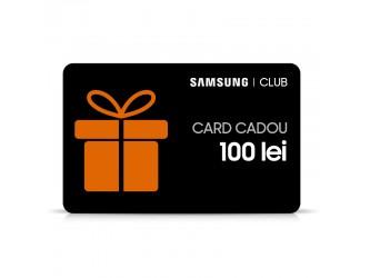 Card cadou 100 lei Samsung Club
