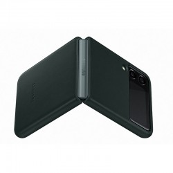 LEATHER COVER GALAXY Z FLIP...