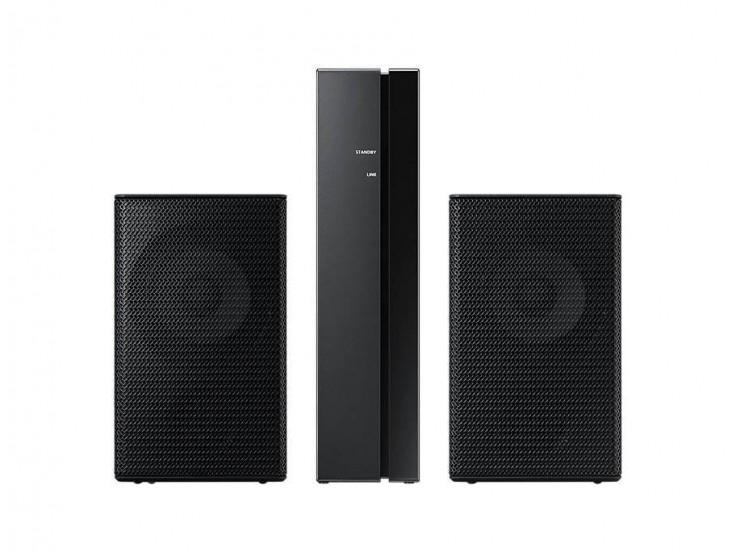 Kit wireless SWA-9000S pentru soundbar Samsung, Surround, 120 W, Negru