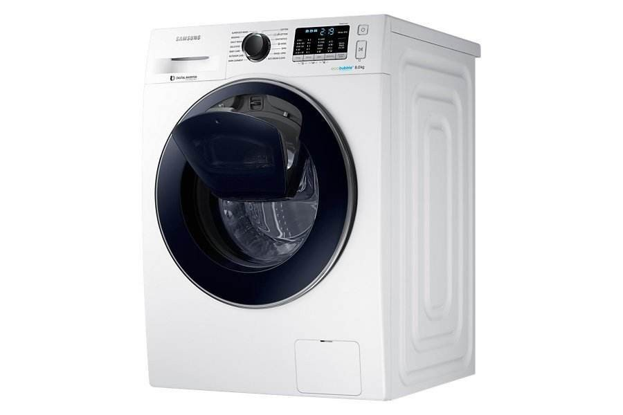 masina de spalat samsung ww80k5410uw eco bubble addwash. Black Bedroom Furniture Sets. Home Design Ideas
