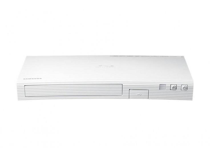 Blu-ray player Smart 3D SAMSUNG BD-J5500E, USB, DLNA, Curbat, Alb