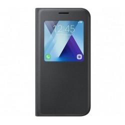 Husa S-view Standing Cover pentru Samsung Galaxy A5 (2017), Black