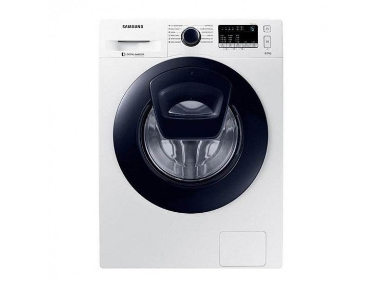 Masina de spalat Samsung WW80K44305W, AddWash, 8kg, Digital Inverter