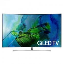 Televizor curbat SAMSUNG QLED Smart Ultra HD 4K, 138cm, QE55Q8CAM