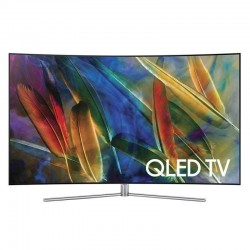 Televizor curbat SAMSUNG QLED Smart Ultra HD 4K, 138cm, QE55Q7CAM