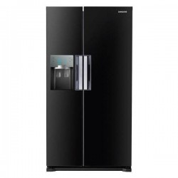 Side by Side SAMSUNG RS7768FHCBC, Twin Cooling Plus®, 545 l, Black