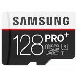 Card de memorie SAMSUNG MicroSDXC PRO Plus 128GB,  UHS-I + Adaptor