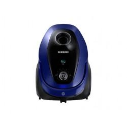 Aspirator cu sac Samsung VC07M25E0WB, 2.5 l, 750 W, Tub telescopic, Accesorii 2 in 1, Albastru