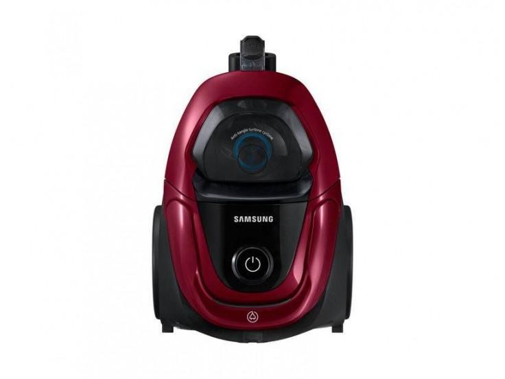 Aspirator fara sac Samsung VC07M31A0HP, 2 l, 750W, Tub telescopic, Control pe maner, Anti-tangle Cyclone, Visiniu