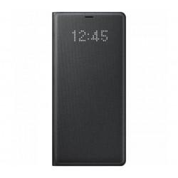 Husa LED View Cover pentru Samsung Galaxy Note 8, Black