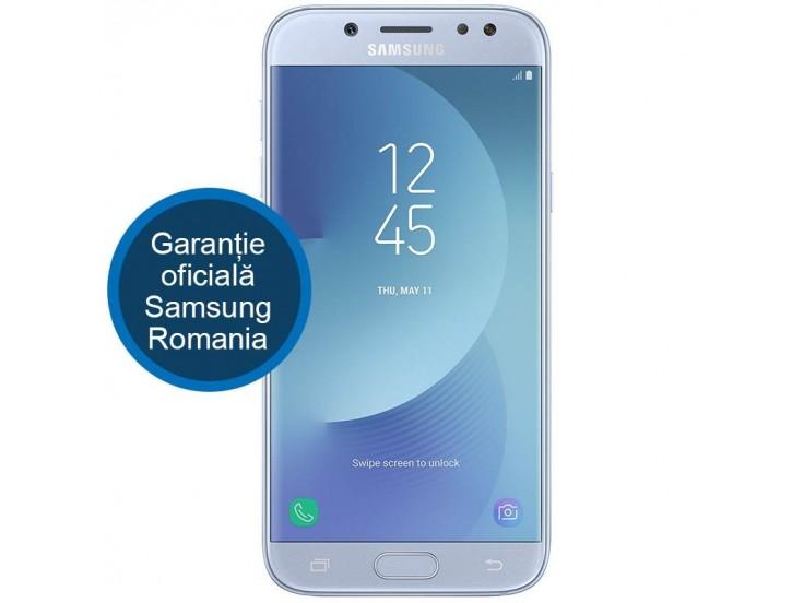 Telefon mobil Samsung Galaxy J5 (2017), Dual Sim, 16GB, 4G, Blue Silver