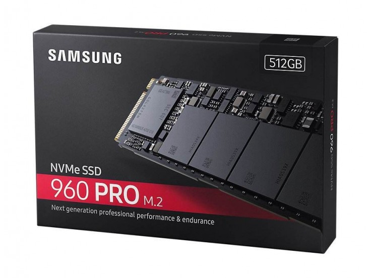 Solid State Drive (SSD) Samsung 960 PRO, 512GB, M.2, PCI Express 3.0 x4, MZ-V6P512BW