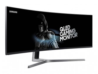 "Monitor QLED Gaming SAMSUNG LC49HG90DMUXEN, 49"" Curved, HDR,  Super Ultra-wide screen, FreeSync"