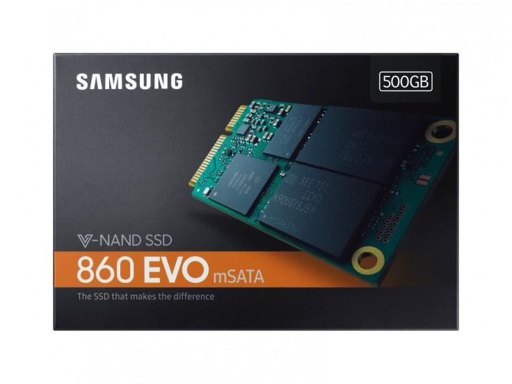 Solid State Drive (SSD) Samsung MZ-M6E500BW, 860 EVO, 500GB, mSATA