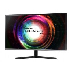"Monitor VA QLED Samsung 31.5"", Ultra HD, HDMI, Display Port, mini Display Port, Negru, LU32H850UMUXEN"