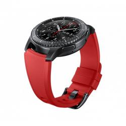 Curea Samsung Gear S3, Standard Size, Orange Red
