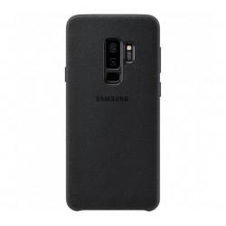 Husa Alcantara Cover pentru Samsung Galaxy S9 Plus, Black