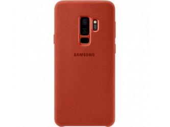 Husa Alcantara Cover pentru Samsung Galaxy S9 Plus, Red