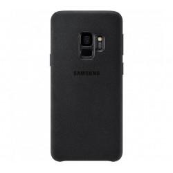 Husa Alcantara Cover pentru Samsung Galaxy S9, Black