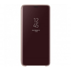 Husa Clear View Standing Cover Samsung Galaxy S9 Plus, Purple