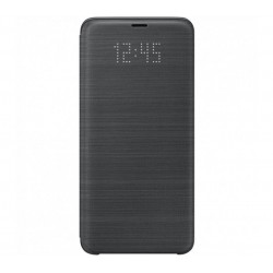 Husa LED View Cover pentru Samsung Galaxy S9 Plus, Black