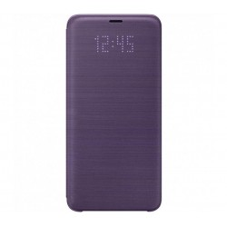 Husa LED View Cover pentru Samsung Galaxy S9 Plus, Violet