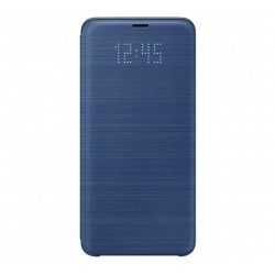 Husa LED View Cover pentru Samsung Galaxy S9 Plus, Blue