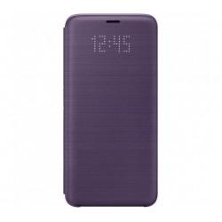 Husa LED View Cover pentru Samsung Galaxy S9, Black