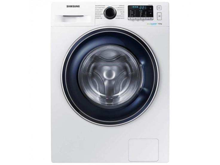 Masina de spalat rufe Samsung WW70J5545FW, EcoBubble, 7 kg, 1400 RPM, Clasa A+++, Alb