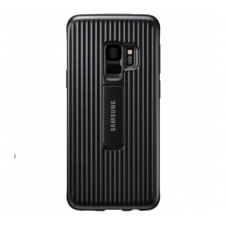 Husa Protective Standing Cover Samsung Galaxy S9 Plus, Black