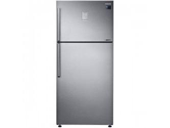 Frigider cu doua usi Samsung RT50K6335SL, 500 l, Clasa A++, Digital Inverter, Twin Cooling Plus,  Afisaj extern, Inox