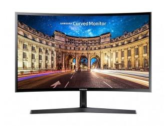 "Monitor LED Samsung 27"" Curved LC27F398FWUXEN, Full HD, HDMI, Display Port, Headphone, Tilt"