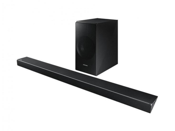 Panoramic Soundbar HW-N650, 5.1ch, 360 W, Samsung Acoustic Beam Technology, Negru