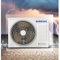 Aer conditionat Samsung, AR12NXWXCWKNEU/XEU, 12000 Btu, A++, Wind Free, Smart Wi-Fi