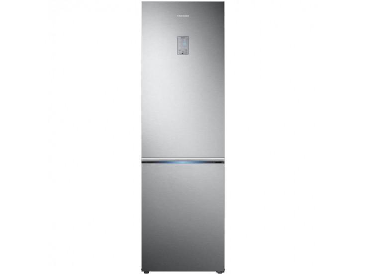 Combina frigorifica Samsung RB34K6000SS, 344l, Clasa A+, Full No Frost, Power Cool, Power Freeze,  Display