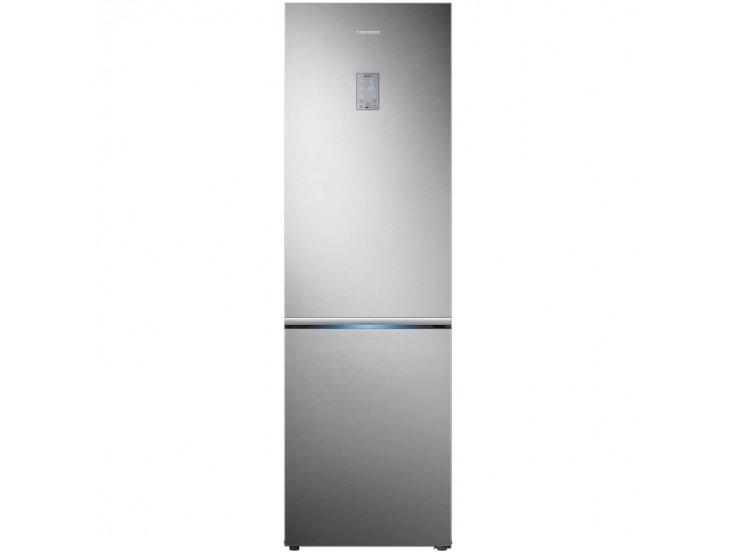 Combina frigorifica Samsung RB34K6032SS, 344l, Clasa A++, Full No Frost, Power Cool, Power Freeze, Display