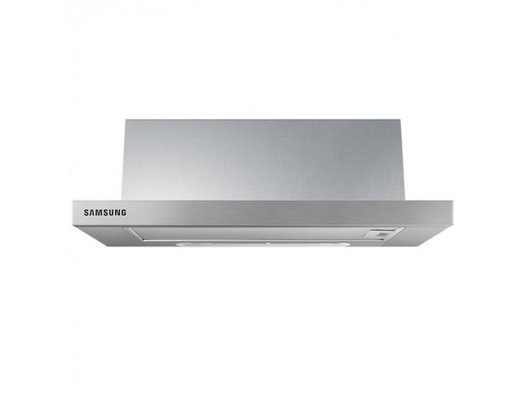 Hota incorporabila telescopica Samsung NK24M1030IS, Putere de absorbtie 392 m3/h, 1 motor, 60 cm, LED, Inox