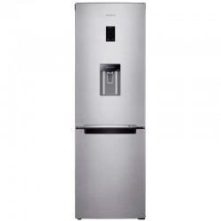 Combina frigorifica Samsung RB33J3830SA, 321 l, Clasa A+, H 185 cm, No Frost, Dozator apa, Display, Metal Graphite