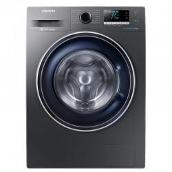 Masina de spalat rufe SAMSUNG WW80J5446FX, EcoBubble, Motor Inverter Digital, Smart Check, 8 kg, 1400 RPM, Clasa A+++, Inox