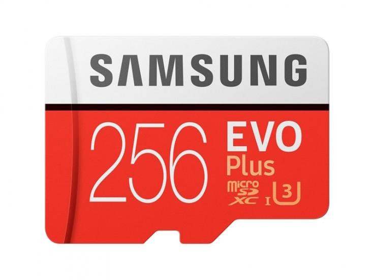 Card de memorie Samsung Micro-SDHC EVO Plus 256GB, Clasa 10, UHS-1 2017, MB- MC256GA/EU